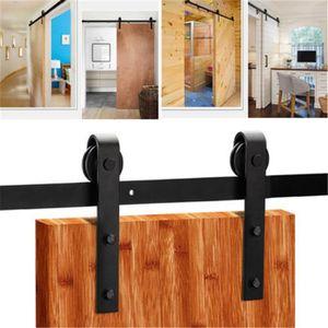 kit rail pour porte coulissante achat vente kit rail pour porte coulissante pas cher cdiscount. Black Bedroom Furniture Sets. Home Design Ideas