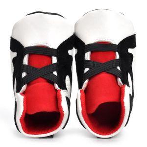 BOTTE Nouveau-né Infantile Kid Filles Garçons Crib Chaussures Semelle Souple Anti-slip Bébé Sneakers Chaussures@BlancHM DGywC8zzw