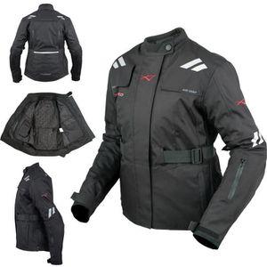 BLOUSON - VESTE Textile Blouson Moto Femme Termique Protections CE