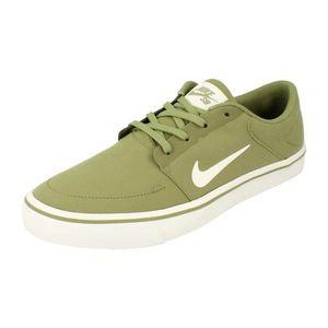 on sale ee4e1 f4866 BASKET Nike Sb Portmore Canvas homme Trainers 723874 Snea