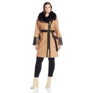 MANTEAU - CABAN Femmes Plus Size Kate Middelton Manteau de laine C 526dfe2524c5