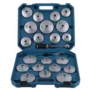 FILTRE A HUILE Coffret clés cloche pour filtre à huile 23PCS