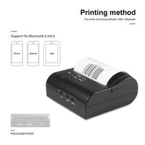 IMPRIMANTE Imprimante Thermique sans Fil-Imprimante à Reçu Th