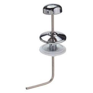 RESERVOIR WC Tirette chasse d?eau verticale angulaire chromée 1
