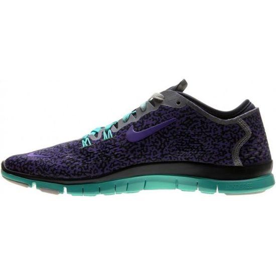 Basket Nike Free 5.0 TR Fit 4 - Ref. 629832-504 Violet Violet - Achat / Vente basket
