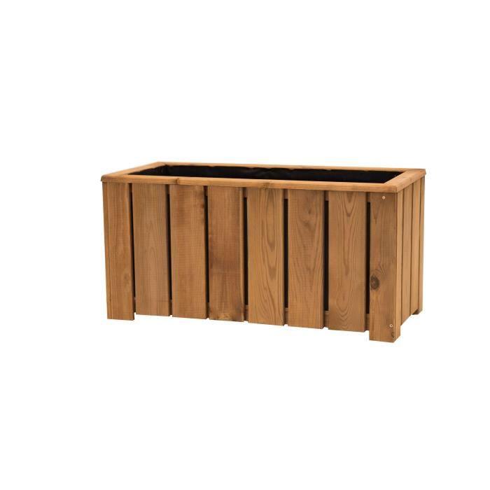 bac a fleurs en bois achat vente pas cher. Black Bedroom Furniture Sets. Home Design Ideas