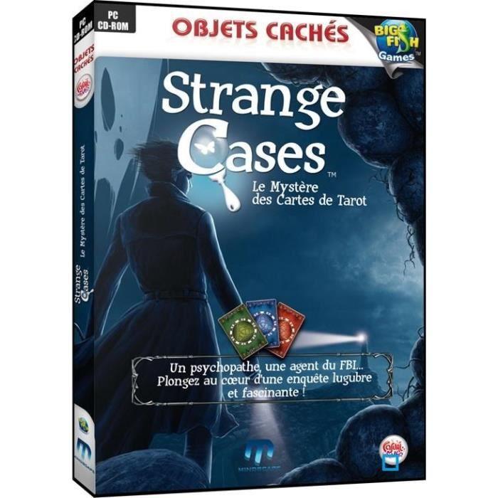 JEU PC STRANGE CASES: LE MYSTERE DES CARTES DE TAROT / PC