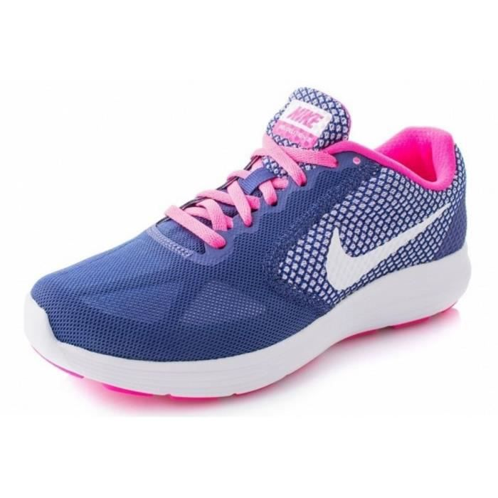 new concept 0b6c3 1ed38 NIKE Baskets Chaussures Running Revolution 3 Femme RNG Rg
