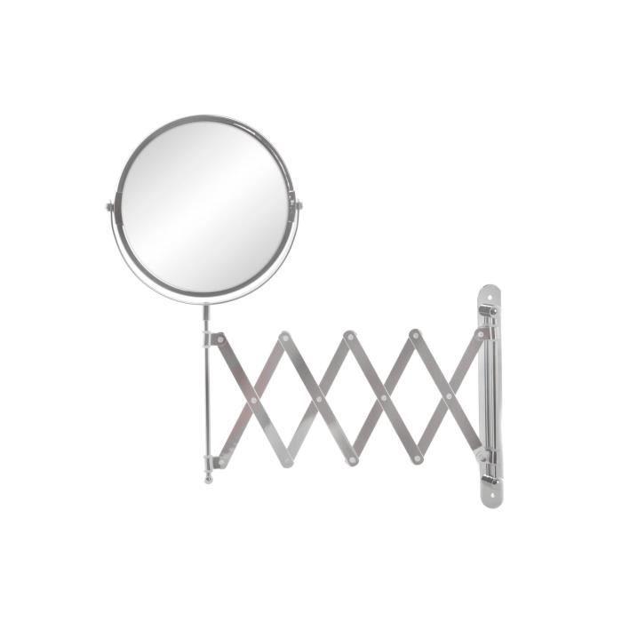 Miroir salle de bain vanitys - métal 33x33x16 cmMIROIR