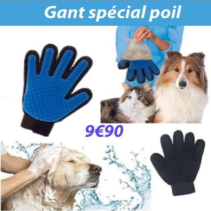 gants brosse chien achat vente pas cher. Black Bedroom Furniture Sets. Home Design Ideas