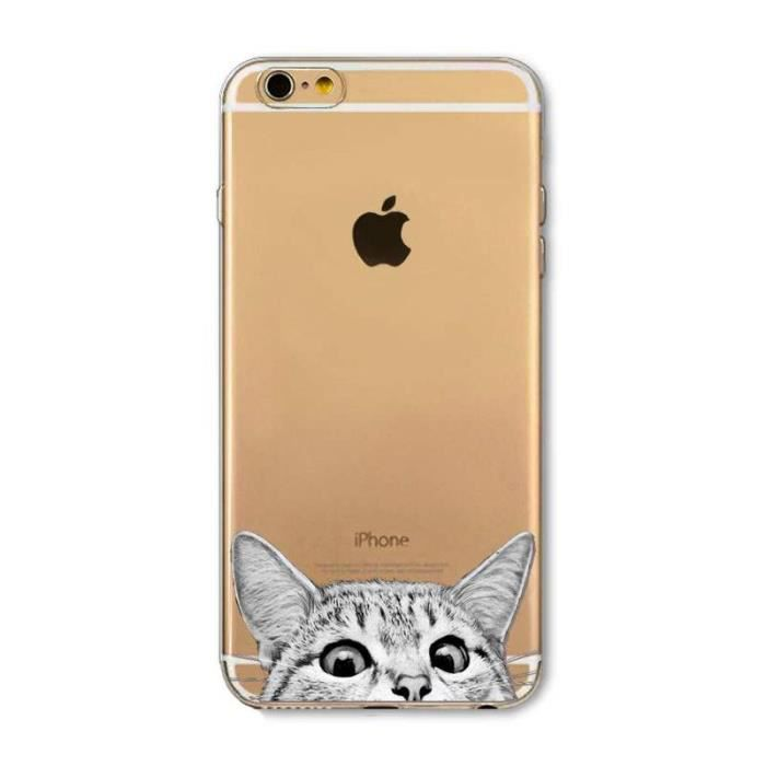 coque chat iphone 4