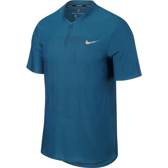 683cf09b18faa Polo Nike Advantage Zonal Cooling Bleu Paris Été 2018 - Prix pas ...