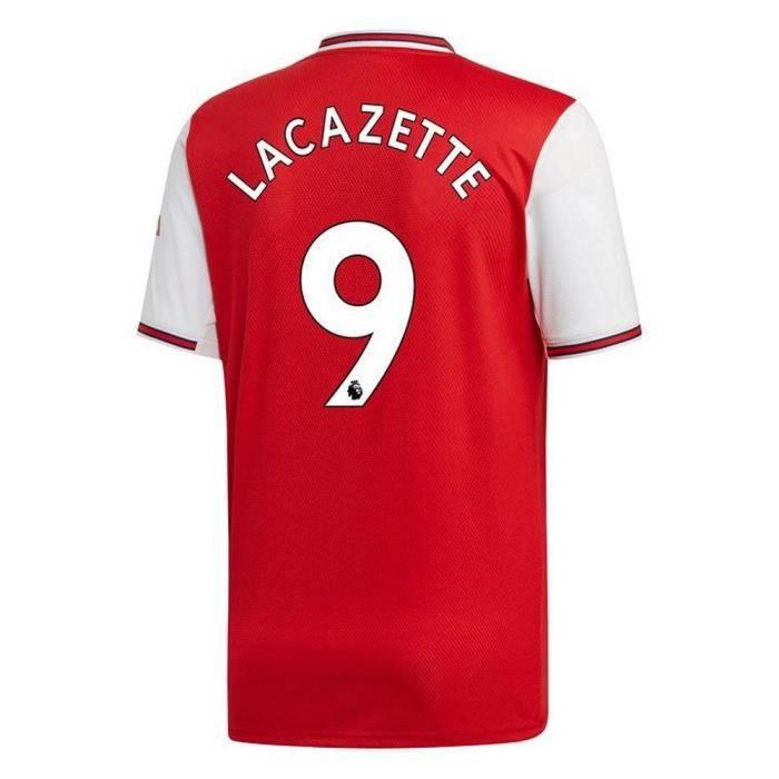 Lacazette Adidas Maillot Saison 2019 Arsenal Numéro Domicile Flocage Homme 9 Officiel 2020 D9H2EI