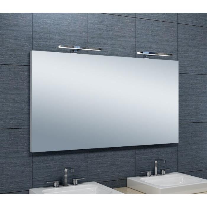 spot led miroir salle de bain simple miroir avec spot salle de bain spot led a l luminaire. Black Bedroom Furniture Sets. Home Design Ideas