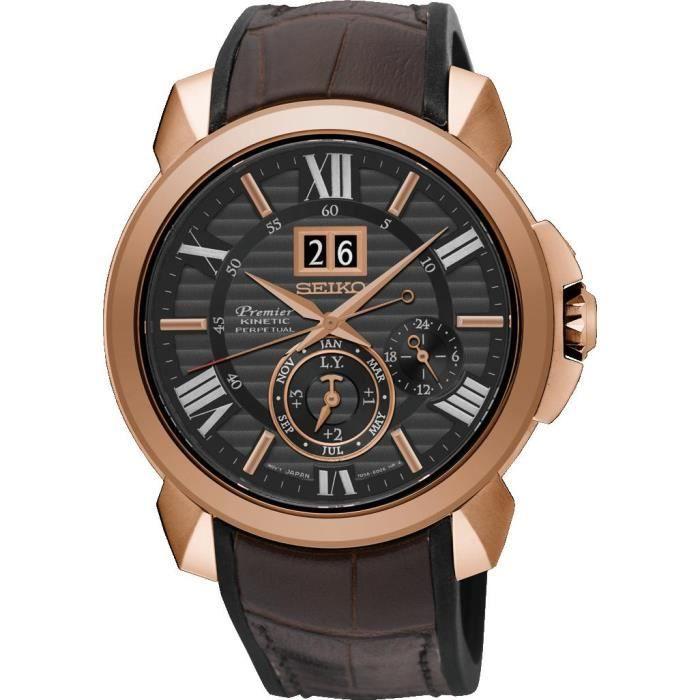 e5ff40c379ba62 Seiko Premier Novak Djokovic Special Edition SNP146P1 Montre Calendrier  perpétuel