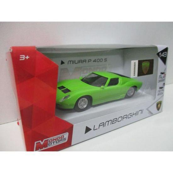 Mondo Motors Lamborghini Miura P400 S 1 43 Vert Achat Vente