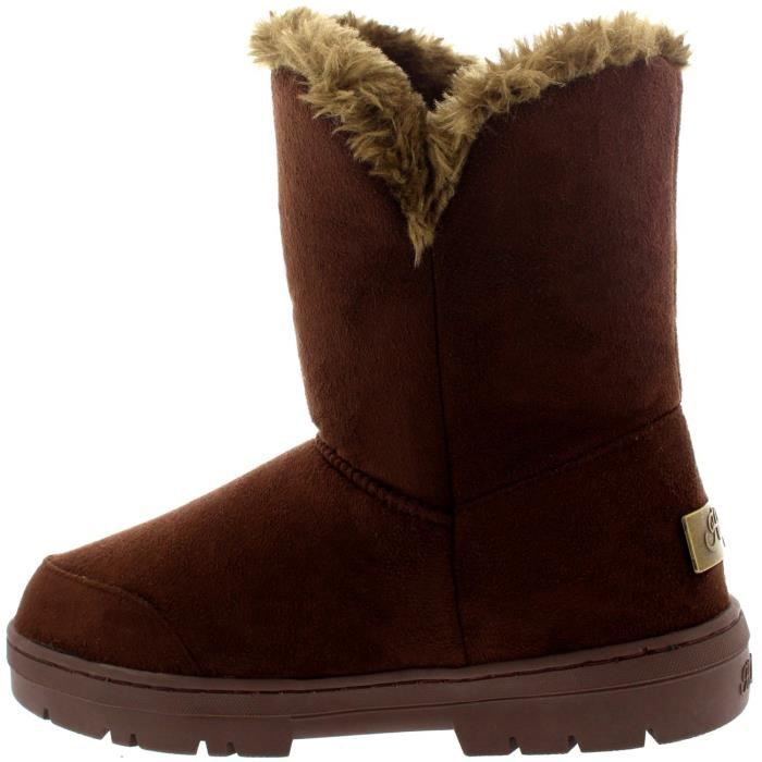 Womens One Toggle Classic Short Waterproof Winter Rain Snow Boots XJPHT Taille-39