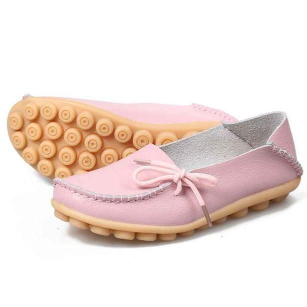 Femmes Sport Doux Appartements Cuir Yxp60811655pk Rose Loisirs Mocassins En Nouvelles Chaussures De pFwBq6qUx