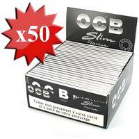 FEUILLE À ROULER Feuille à rouler OCB Slim Premium x50