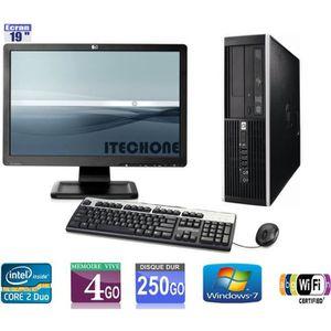 UNITÉ CENTRALE + ÉCRAN Pc de bureau HP 6000 Pro - Core 2 Duo 3,00 GHz - R