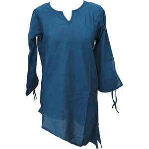 7009605d4c7c tunique-femme-coton-bleu-artisanal-ethnique-du-nep.jpg