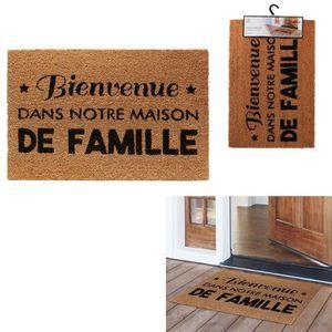 PAILLASSON THE HOME DECO FACTORY Paillasson Famille M10 - 40
