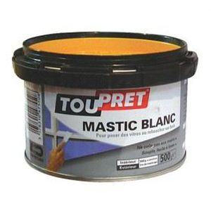 COLLE - PATE FIXATION Mastic - blanc - 5 Kg