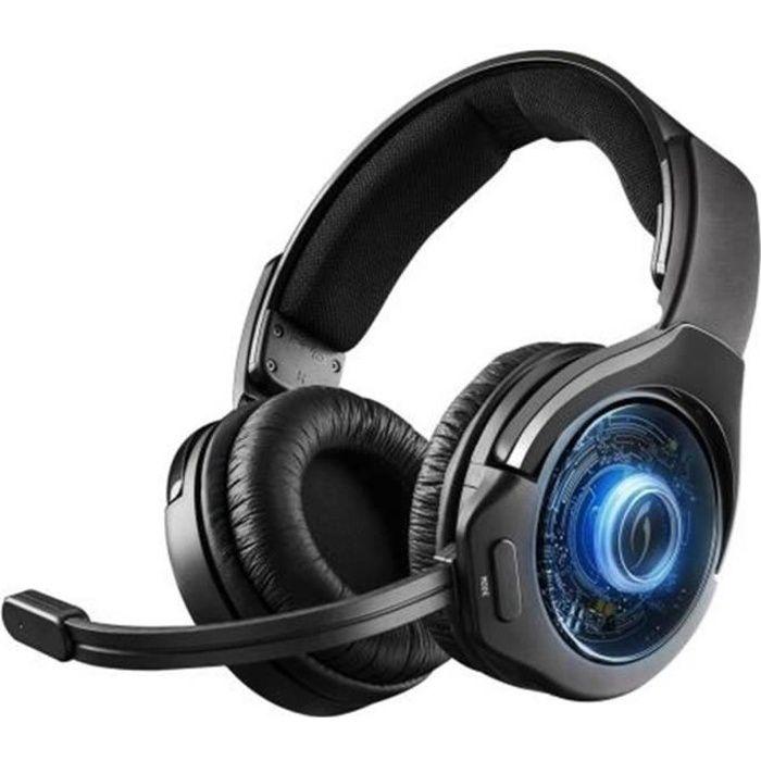 Casque Afterglow Ag9 Wireless pour PS4 Gris et noir