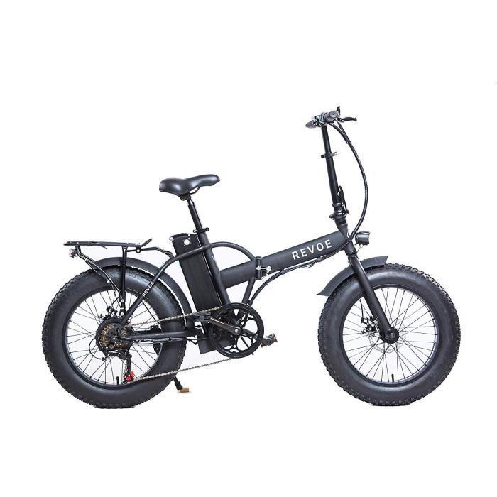 REVŒ Vélo électrique Dirt 20'' - Pliant - Noir