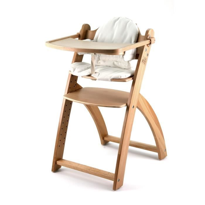 First baby safety chaise haute yaris bois naturel bois - Chaise haute safety first baby relax ...