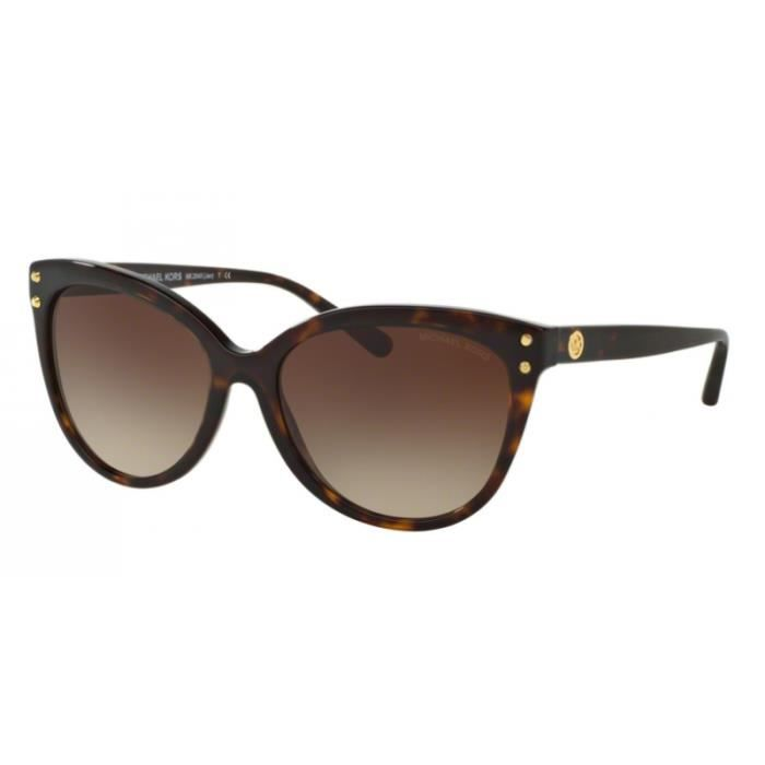 a7ae75b90d60ee lunettes de soleil femme michael kors jan mk2045 300613 ecaille 55 16 achat  vente lunettes