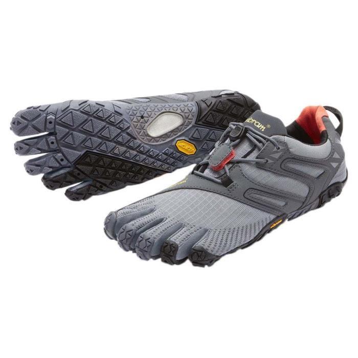 V, Chaussures de Trail Homme, Noir (Black/Grey), 46 EUVibram Fivefingers