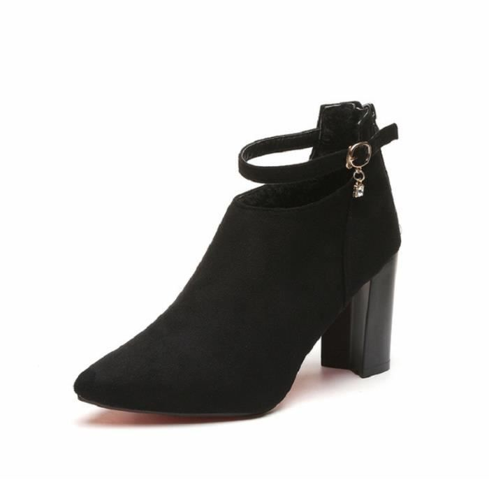 Escarpins rouge Hauts Chaussures xz234noir35 Femmes Pompes Nouvellesà De Mariage Gris Wys Femme noir Talons 4wqR4r