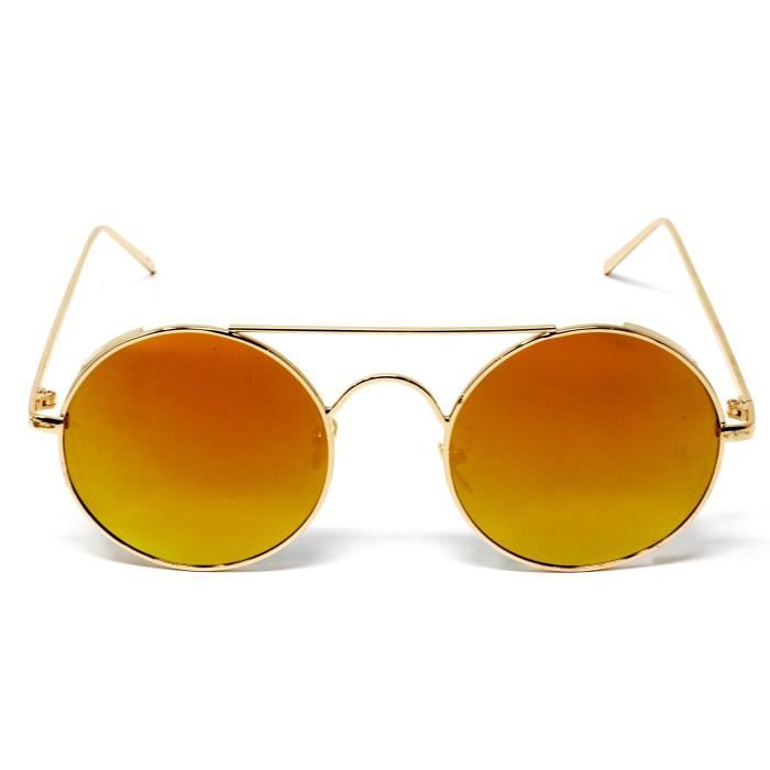Premium Mirror Coated Lenses Sunglasses With Uvb Protection I23VC