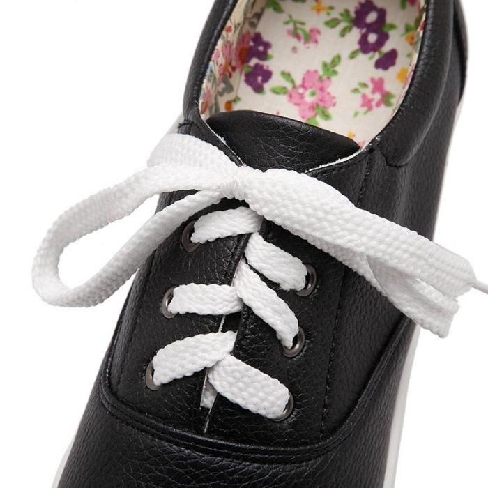 Sneakers Femme Impression Floral Basses Baskets Mode Chaussures Plate Sport