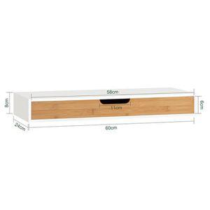 table de chevet murale achat vente pas cher. Black Bedroom Furniture Sets. Home Design Ideas
