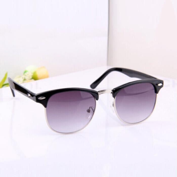 surdimensionné Retro noir de lunettes designer soleil New Womens Vintage Mens wgqUOXvX