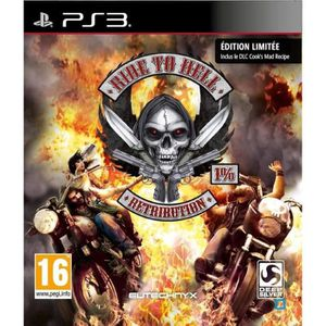 JEU PS3 RIDE TO HELL - RETRIBUTION EDITION LIMITEE / PS3