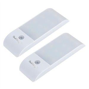 ARMOIRE DE CHAMBRE NICERIO 2pcs détecteur de mouvement de lumière LED