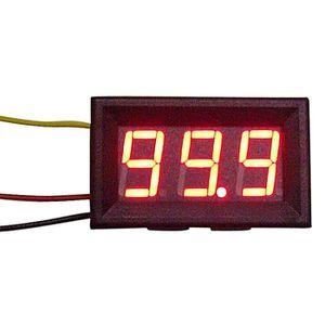 MULTIMÈTRE Nouveau LED rouge panneau compteur Mini voltmètre