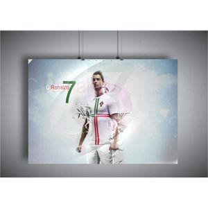 AFFICHE - POSTER Poster CR7 Cristiano Ronaldo Portugal football 07