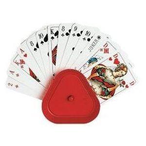 CARTES DE JEU Lot de 4 porte-cartes à jouer tenez vos cartes …