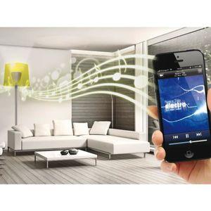 AMPOULE - LED Ampoule Samba Led RGB avec Enceinte ALTHURIA Blanc