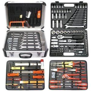 PACK OUTIL A MAIN Famex 719-50 Mallette à outils de mécanicien 207