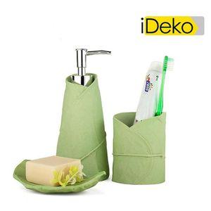 SET ACCESSOIRES iDeko ® Set accessoires salle de bain 4 pieces en