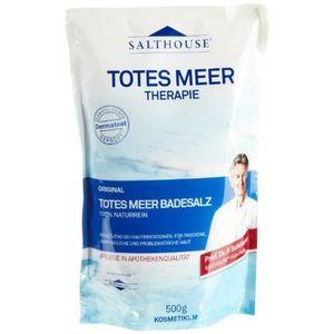 SAC À MAIN Salthouse Original Totes Meer Bade-Salz, 500g, 6er