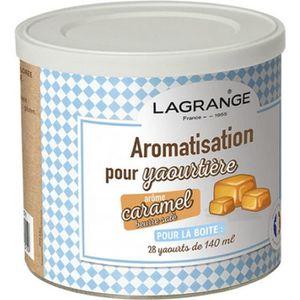 YAOURTIÈRE - FROMAGÈRE LAGRANGE Aromatisation caramel beurre salé pour ya