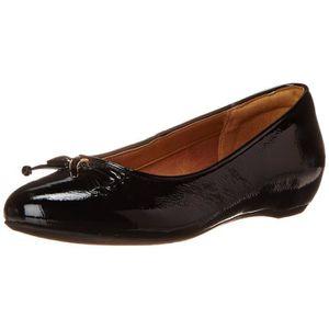 Femmes Ilo1c Chaussures En Algérie Noir Plates Pour Clarks qZt6x1gz6