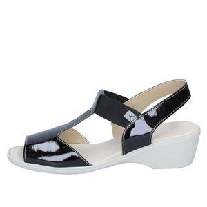 44aec26a4d6 SANDALE - NU-PIEDS CINZIA SOFT Chaussures Femme Sandale Verni Noir BZ