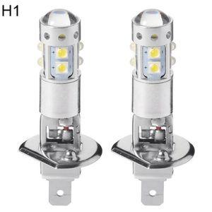 PHARES - OPTIQUES 1 paire de véhicules auto 10 LED DRL ampoules de b